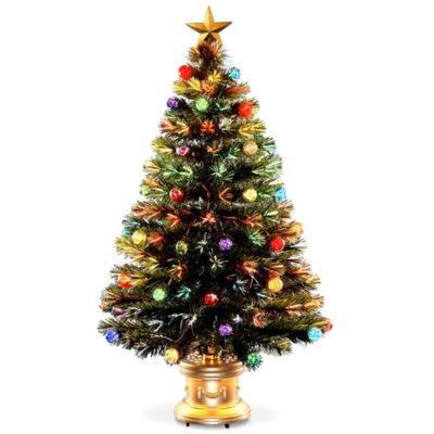 Gold Ornaments Tree