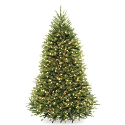 National Tree 7.5-Foot Pre-Lit Dunhill Fir