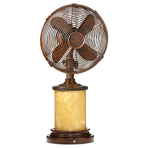 buy deco breeze 10 inch table fan from bed bath beyond