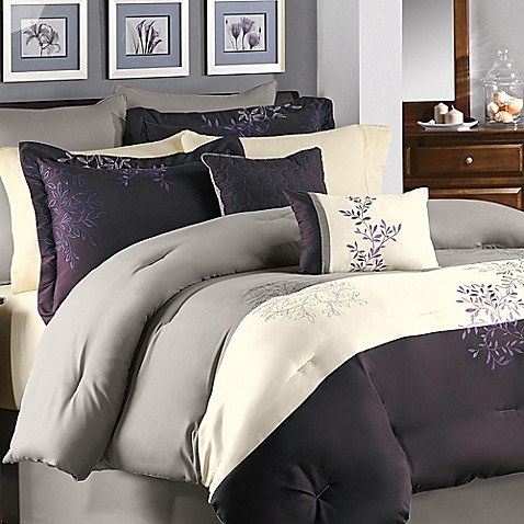 Buy murell king comforter set from bed bath beyond - Bed bath and beyond bedroom furniture ...