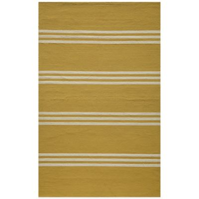 Momeni 5 Yellow Area Rug