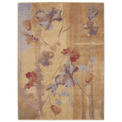5-Foot 6-inches x 7-Foot 5-inches Beige Rug