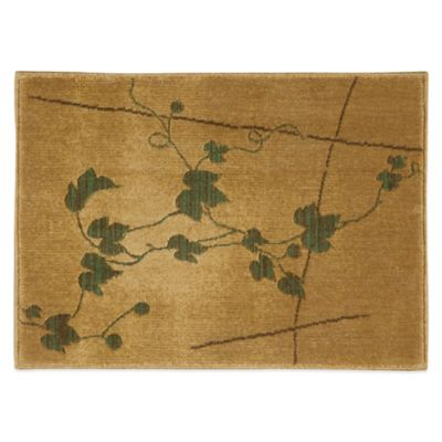 Nourison Somerset 2-Foot x 2-Foot 9-Inch Rug in Gold
