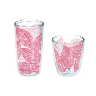 Tervis® Leaves 16 oz. Wrap Tumbler in Pink