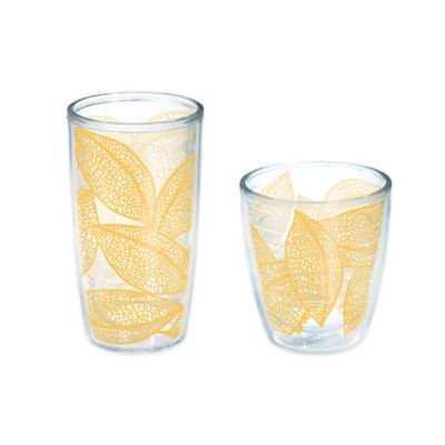 Tervis® Leaves 16 oz. Wrap Tumbler in Gold