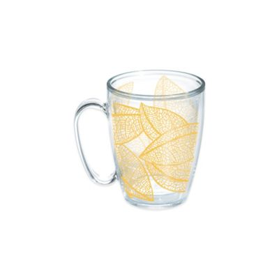 Tervis® Leaves 15 oz. Wrap Mug in Gold