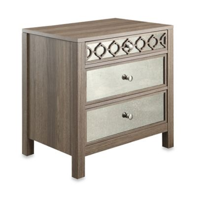 Office Star Products Helena 3-Drawer Cabinet
