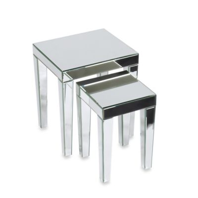 Office Star Products Ave Six® Reflections Nesting Tables (Set of 2)