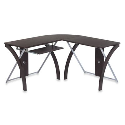 Office Star® Products L-Shaped Computer Desk