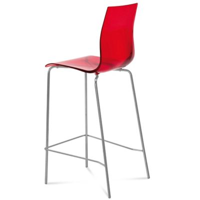 Domitalia Gel Barstool in Orange
