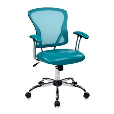 Office Star Products Ave Six Peyton Task Chair in Red