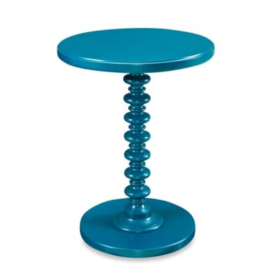 Powell Round Spindle Table in Bubblegum
