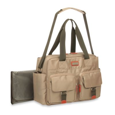 Carter's® Starter Duffle Diaper Bag in Khaki