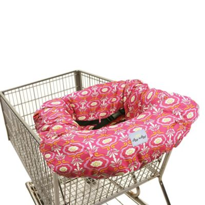 Itzy Ritzy® Ritzy Sitzy™ Shopping Cart and High Chair Cover in Damask