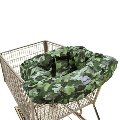Itzy Ritzy® Ritzy Sitzy™ Shopping Cart and High Chair Cover in Camo