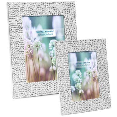 Shimmer 4-Inch x 6-Inch Frame in Silver