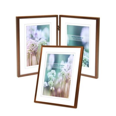 Swing Design™ Vienna 5-Inch x 7-Inch Frame in Brushed Bronze