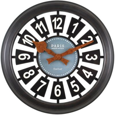 FirsTime® Parisian Plaque Wall Clock