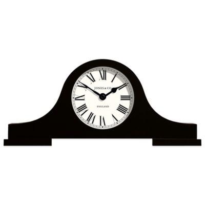 Jones® Clocks Bailey Mantel Clock in Black