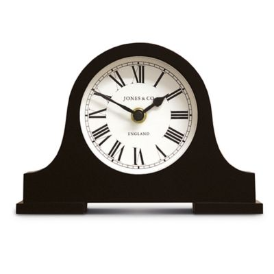 Jones® Clocks Blackham Mantel Clock in Black