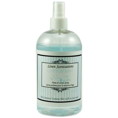 Linen Scentsations 16 oz. Cotton Mist Home & Linen Spray