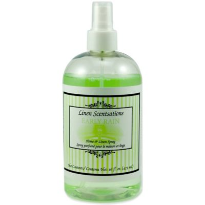 Linen Scentsations 16 oz. Early Rain Home & Linen Spray
