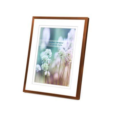 Swing Design™ Vienna 5-Inch x 7-Inch Frame in Brushed Bronze