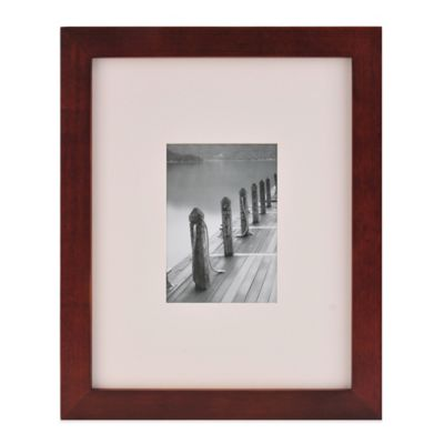 7 Espresso Photo Frame