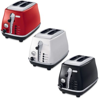 De'Longhi Icona 2-Slice Toaster in Red