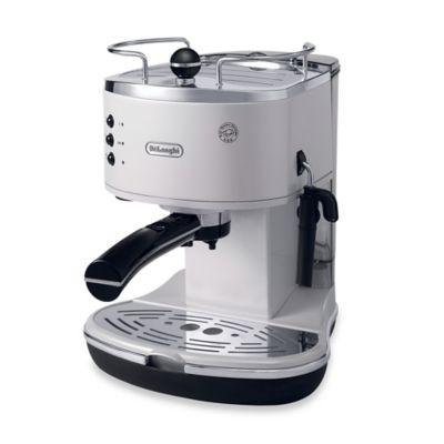 De'Longhi Pump ECO310W Icona Espresso Maker in White