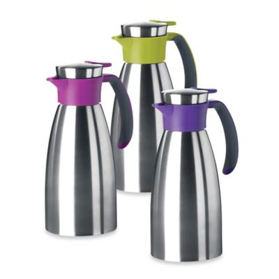 Frieling Stainless Steel 34 oz. Thermal Insulated Carafe in Raspberry