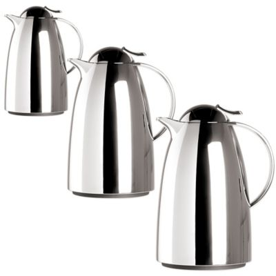Frieling Auberge Quick-Tip Insulated 34 oz. Thermal Carafe in Chrome