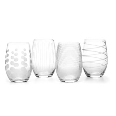 Mikasa® Cheers Stemless Wine Glasses (Set of 4)