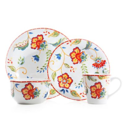 Floral Casual Dinnerware Sets