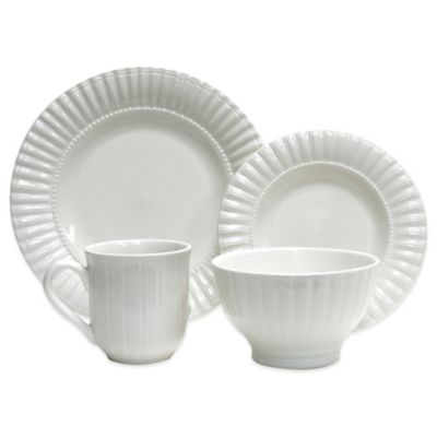 Thomson Pottery White Dinnerware