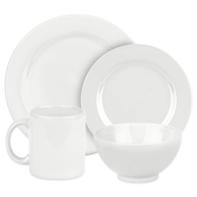 Fun Factory 16-Piece Dinnerware Set in White