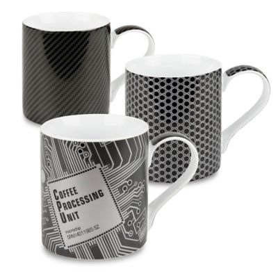 Konitz High Tech Mugs (Set of 3)