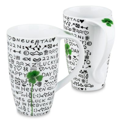 Konitz New Day, New Luck Mugs (Set of 2)