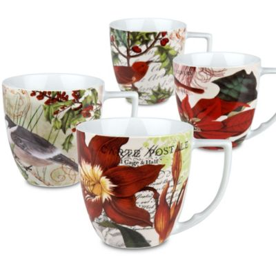 Waechtersbach Accents Traditions Assorted Mugs (Set of 4)