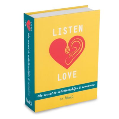 Listen & Love Book Flask