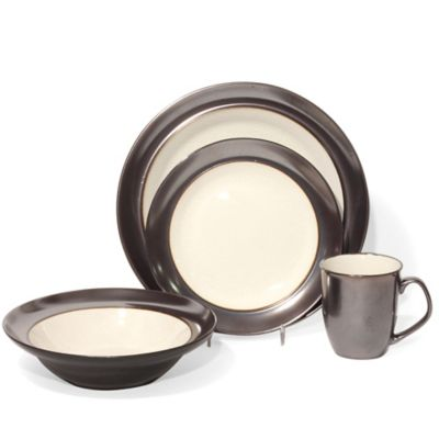 Baum Stellar 16-Piece Dinnerware Set in Ivory