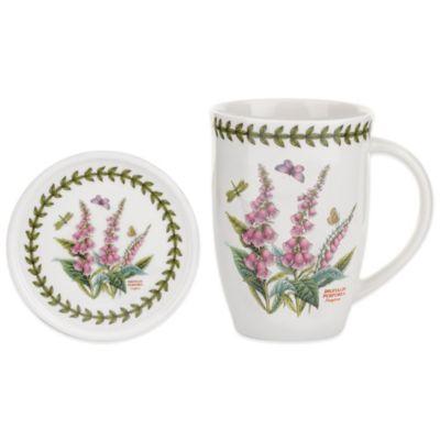 Portmeirion Botanic Garden Fox Glove Mug and Coaster Set