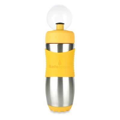 Kid Basix The Safe Sporter™ 16 oz. Stainless Steel Sports Water Bottle in Yellow