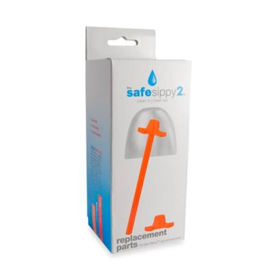 Kid Basix The Safe Sippy2™ Replacement Parts in Orange