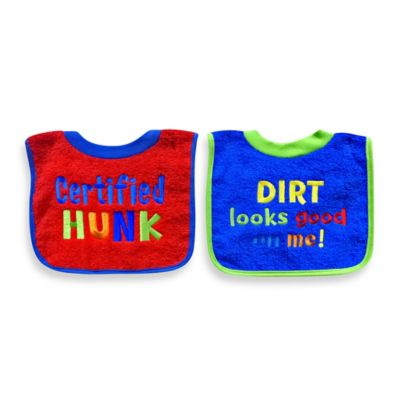 Attitude Saying Bib Set