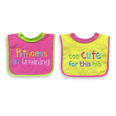 Baby Girl Bib Sets