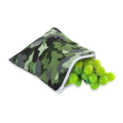 Itzy Ritzy® Snack Happened™ Reusable Snack & Everything Bag in Camouflage