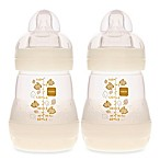 MAM 2-Pack 5 oz. Anti-Colic Bottle in White