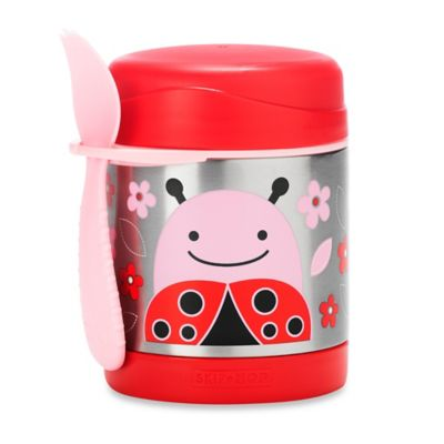 SKIP*HOP® Zoo 11 oz. Insulated Food Jar in Ladybug