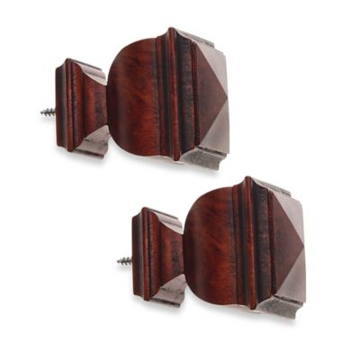 Cambria® Classic Wood Finial in Cherry